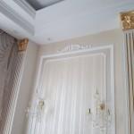 Piliastrai, prabangus interjeras, sienų dekoras